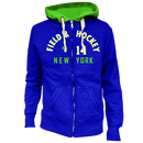 F & H Field & Hockey Kapuzenjacke royal-neongrün